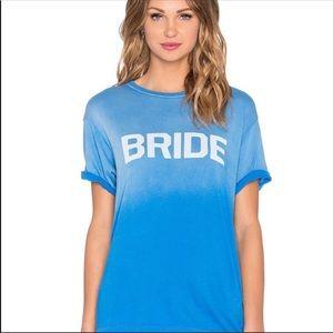 NWT Wildfox Bride Tee
